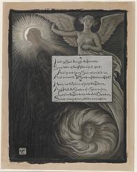 (Illustration for Rubáiyát of Omar Khayyám) The Soul's Answer