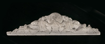 (Pediment study for Post Office Department Building)