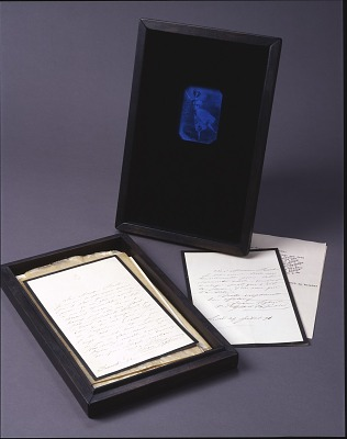 Untitled (Marie Taglioni Letter Case)
