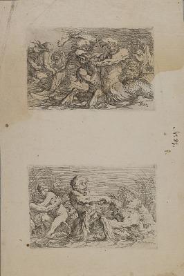 (Figurine Series) River Gods Battling