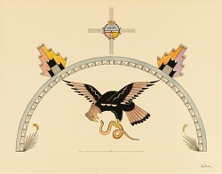 Eagle with Snake