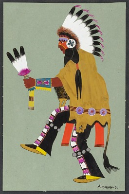 Kiowa Buffalo Dancer