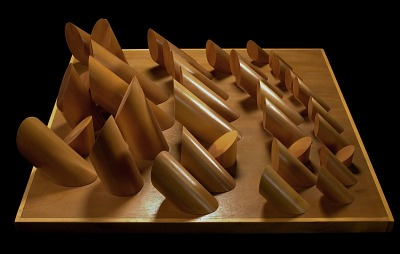Maquette for Facets to the Sun