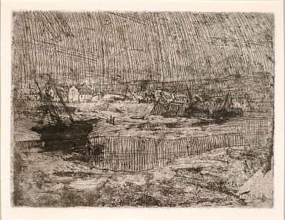 Capsized Fishing Boats, Brittany