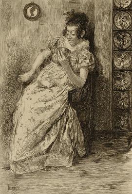 Untitled (woman reading tea leaves)
