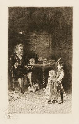 Untitled (children and man)
