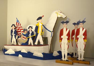 Washington Crossing the Delaware: White Horse