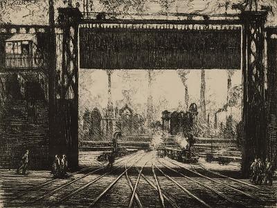 The Iron Gate--Charleroi, from the series Belgium