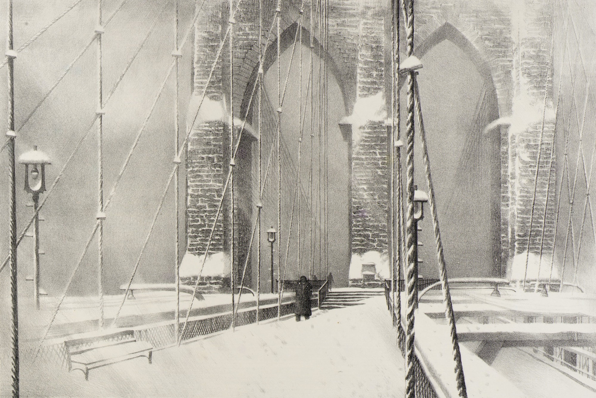 images for Brooklyn Bridge in Winter