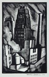 Radiator Building (Illustration for Spiral Press)