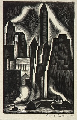 Lower Manhattan (Illustration for Spiral Press)