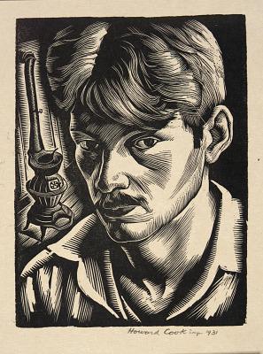 Self-Portrait (Illustration for The Checkerboard)