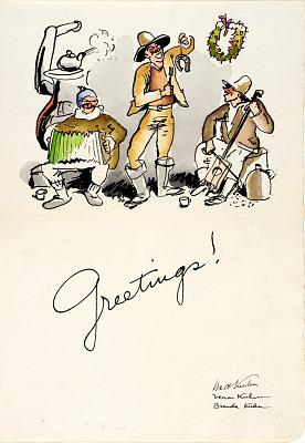 Christmas Greetings 1934