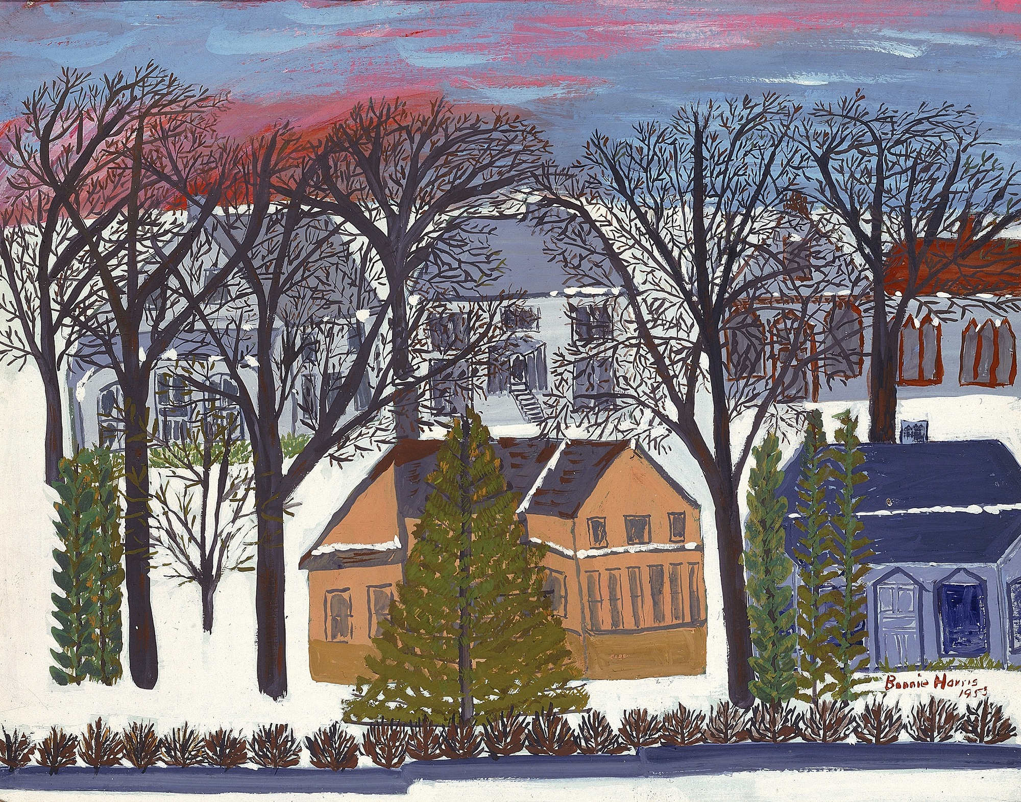 images for Houses in Winter (Minneapolis)