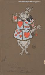 White Rabbit with Herald's Costume (costume design)