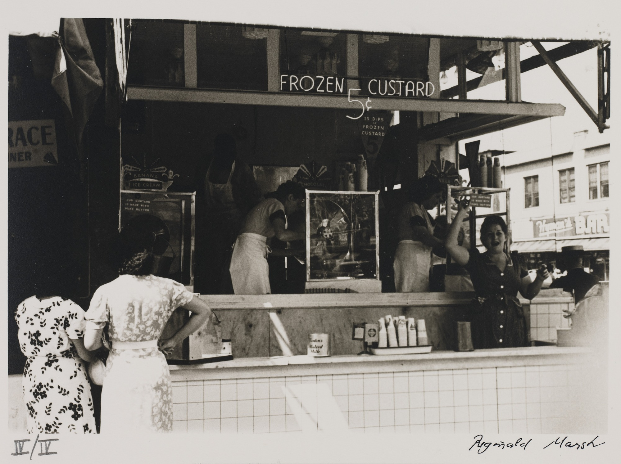 images for Untitled--Frozen Custard Stand, from the portfolio Photographs of New York