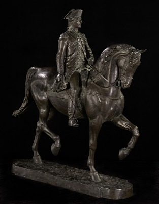 Lafayette (model for colossal statue)