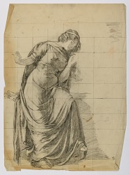 Untitled (Draped Female Figure)