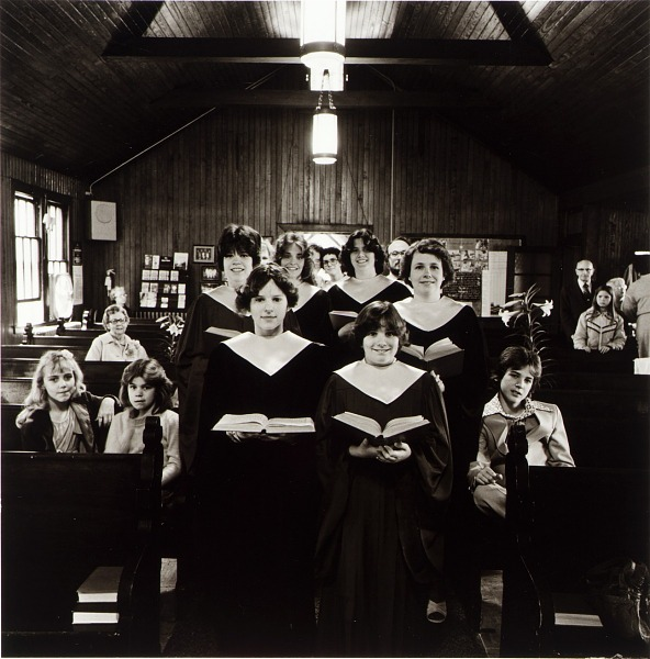 Image for Choir of the United Methodist Church, from the East Baltimore Documentary Survey Project