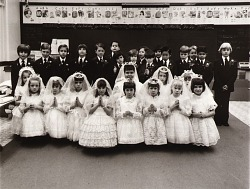 First Communion Class, Saint Elizabeth's Church, from the East Baltimore Documentary Survey Project