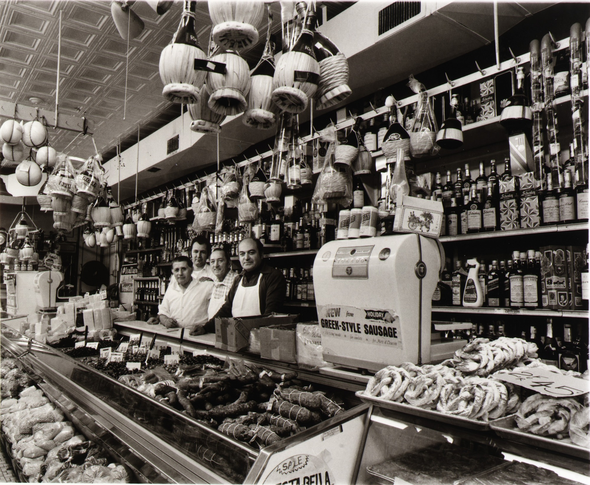Stella Foods, owned and operated by the Kostis family for twenty-one years, features the finest quality imported foods, wines, homemade Italian breads, and Greek pastries in Highlandtown.