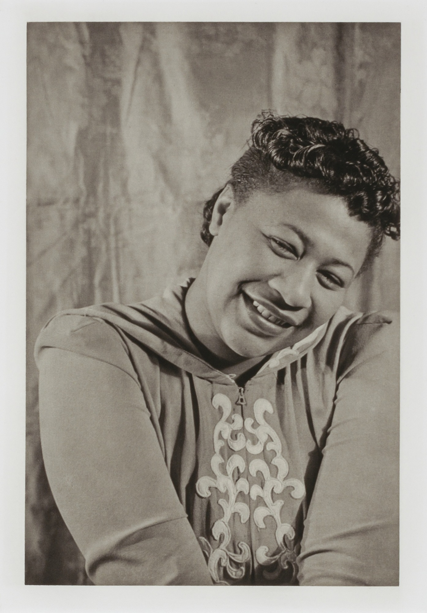 "Image for Ella Fitzgerald, from the unrealized portfolio ""Noble Black Women: The Harlem Renaissance and After"""