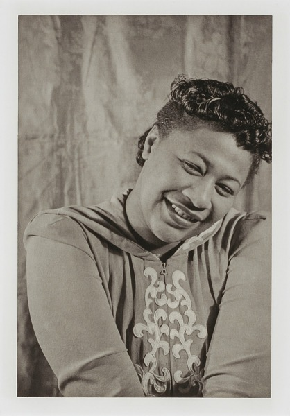 """Image for Ella Fitzgerald, from the unrealized portfolio """"Noble Black Women: The Harlem Renaissance and After"""""""