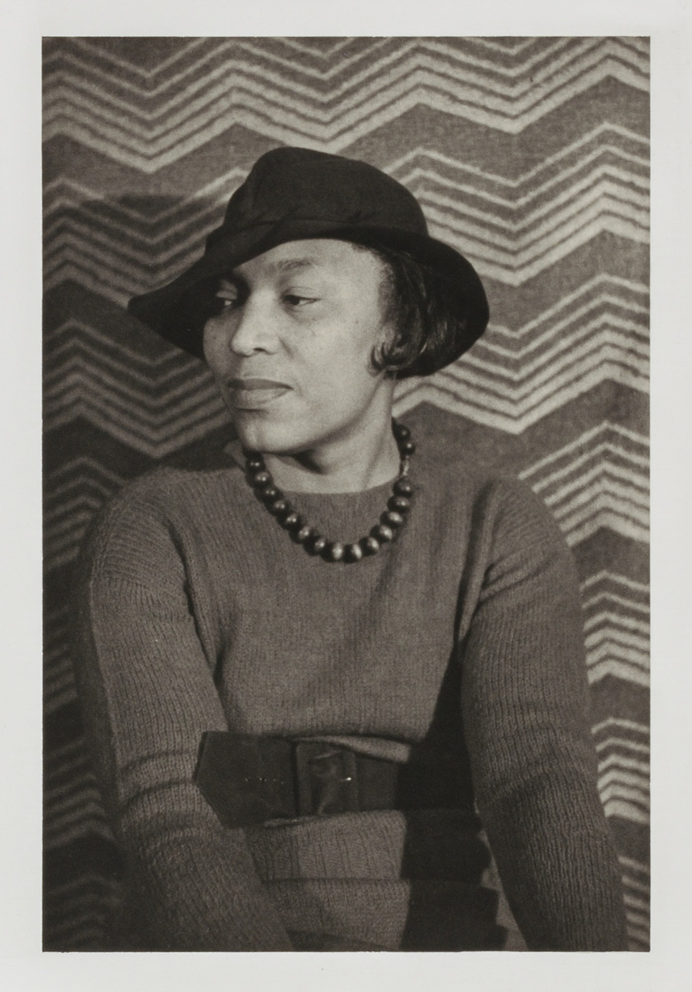 "images for Zora Neale Hurston, from the unrealized portfolio ""Noble Black Women: The Harlem Renaissance and After"""