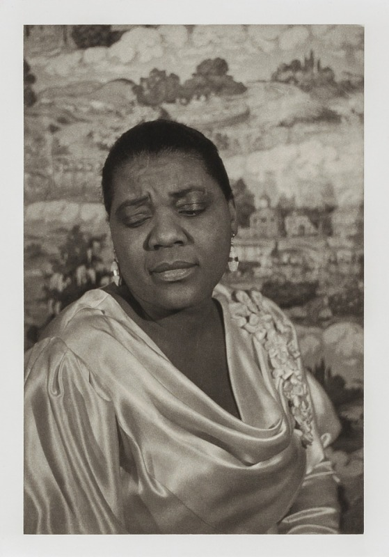 """Image for Bessie Smith, from the unrealized portfolio """"Noble Black Women: The Harlem Renaissance and After"""""""