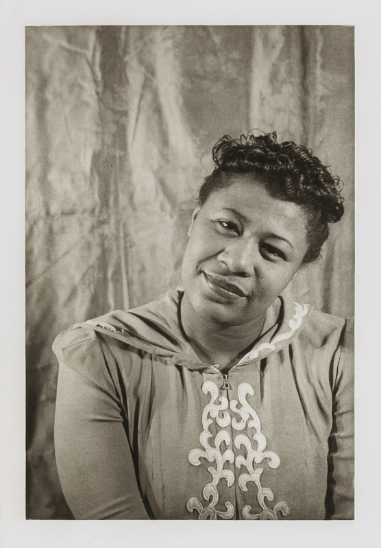 Image for Ella Fitzgerald, from the portfolio 'O, Write My Name': American Portraits, Harlem Heroes