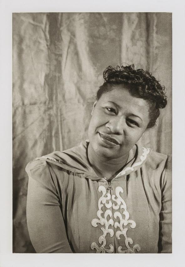 Ella Fitzgerald, from the portfolio 'O, Write My Name': American Portraits, Harlem Heroes