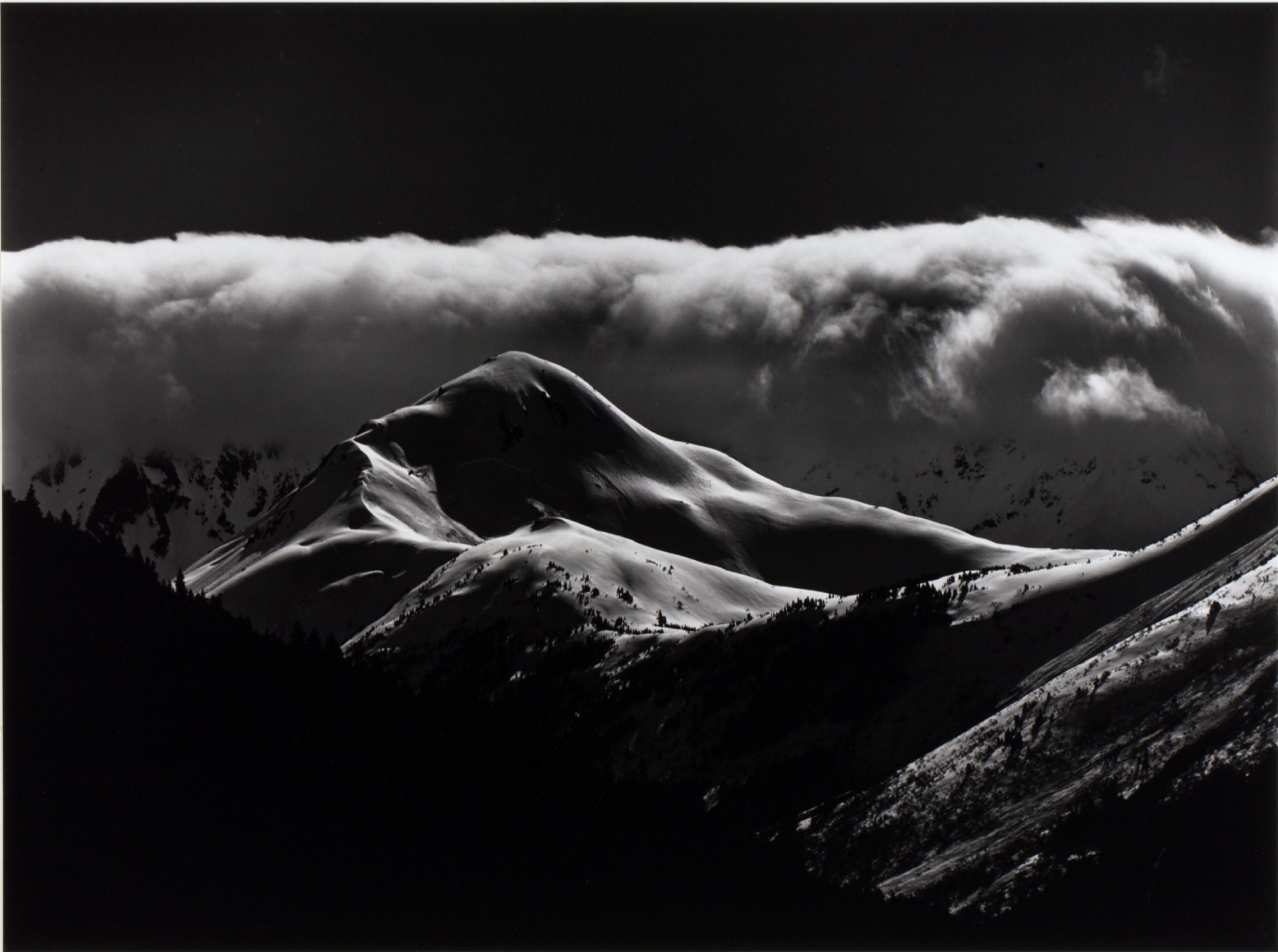 images for Untitled (Snow Covered Mountains)