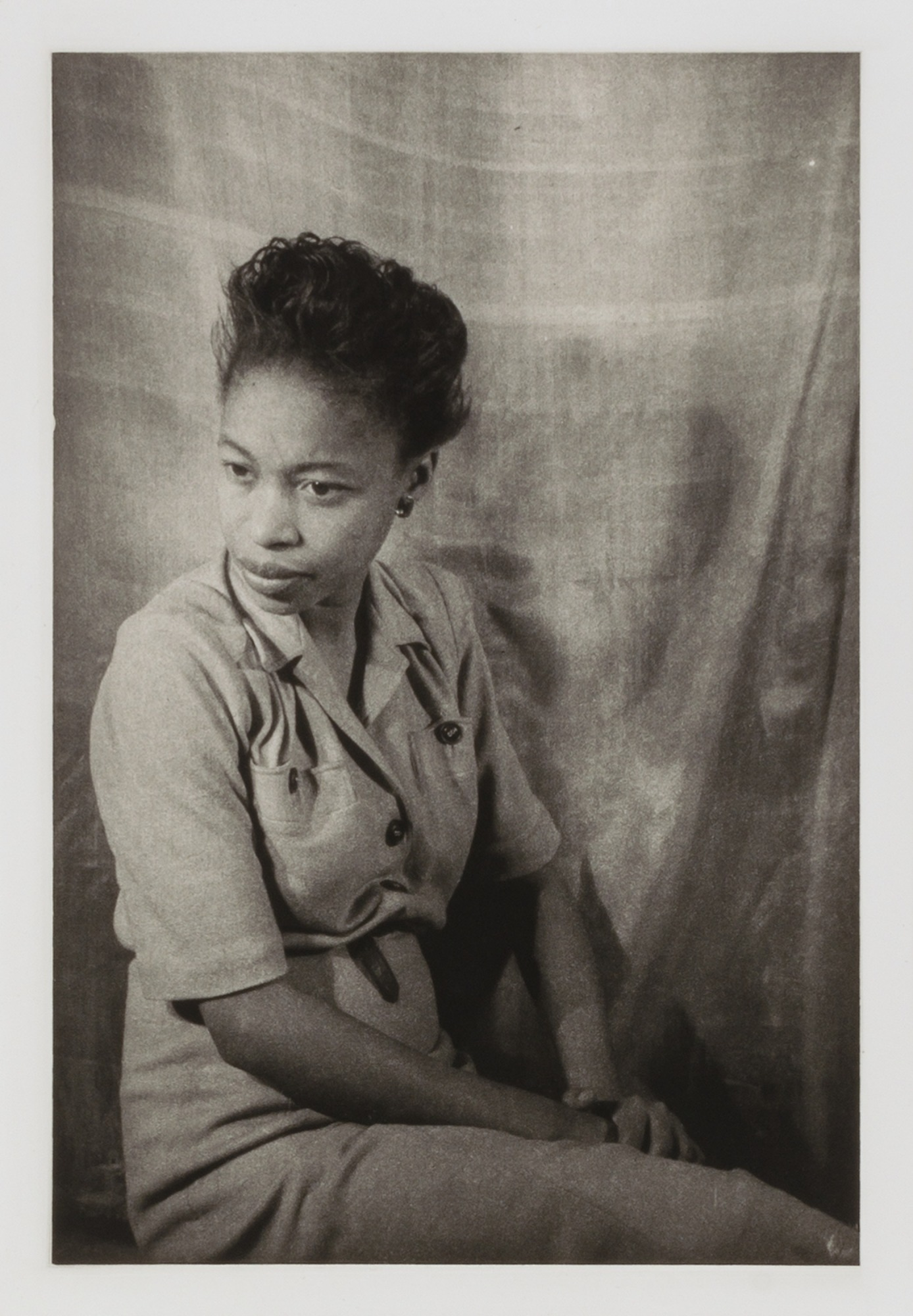 images for Margaret Walker, from the portfolio 'O, Write My Name': American Portraits, Harlem Heroes