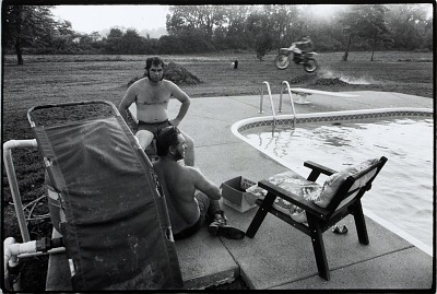 Two Men by Swimming Pool, Hopkins County, from the Kentucky Documentary Survey Project