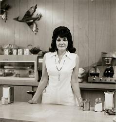 Truckstop waitress, Highway 66, Gallup, New Mexico