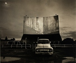Chalk Hill Drive-in Theater, Highway 80, Dallas, Texas