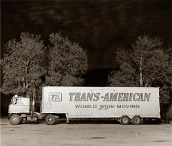 Truck, Highway 66, Ludlow, California