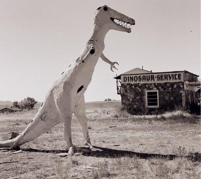 Gas station, Highway 40, Jensen, Utah