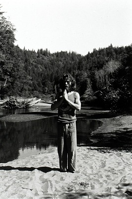 Navarro River (Standing Man Meditating)