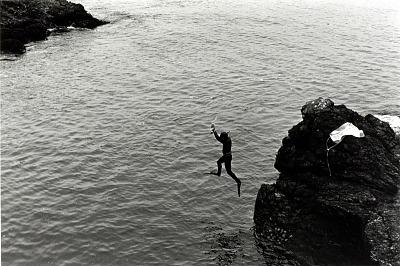 Mendocino (Wet Suited Diver)