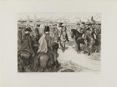 The Surrender of Cornwallis (from the portfolio