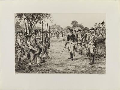 Washington Assumes Command (from the portfolio
