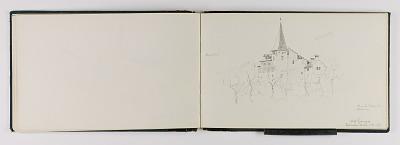 (Sketchbook) Old House, Sierre