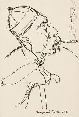 Portrait Sketch (of oriental man)