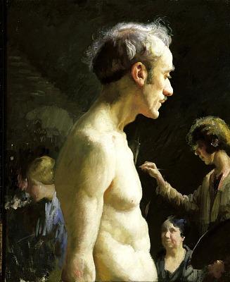 Studio Portrait of a Model (Reggio)
