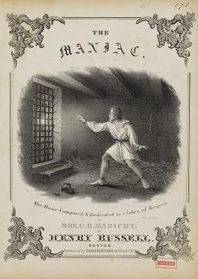 The Maniac (Sheet Music Cover)