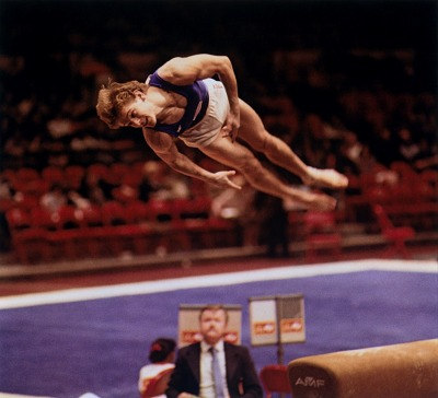Peter Vidmar, Gymnast, McDonald's Cup, Madison Square Garden, New York City, from the series Shooting for the Gold