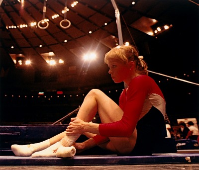 Julianne McNamara, Gymnast, McDonald's Cup, Madison Square Garden, New York City, from the series Shooting for the Gold