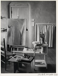 Georgia O'Keeffe's Studio at the Ghost Ranch, New Mexico