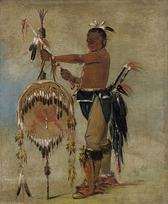 Pash-ee-pa-hó, Little Stabbing Chief, a Venerable Sauk Chief